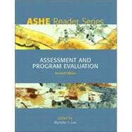 Ashe Reader On Assessment & Program Evaluation