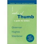 Rules of Thumb - book alone