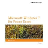 New Perspectives on Microsoft� Windows 7 for Power Users, 1st Edition