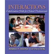 Interactions : Collaboration Skills for School Professionals