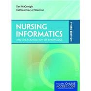 Nursing Informatics and the Foundation of Knowledge