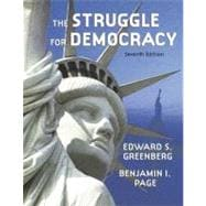 MPSL BB WEB STU ACC STRUGGLE FOR DEMOCRACY HARDCOVER, 7/e