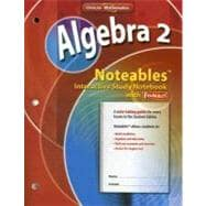 Algebra 2, Noteables: Interactive Study Notebook with Foldables
