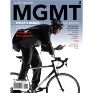 MGMT 3 (with Review Cards and Management CourseMate with eBook Printed Access Card)