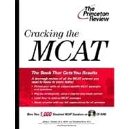 Cracking the MCAT with Practice Questions on CD-ROM