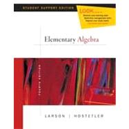 Elementary Algebra Student Support Edition