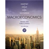 Macroeconomics Private and Public Choice