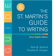St. Martin's Guide to Writing Short Edition & Documenting Sources in MLA Style: 2009 Update