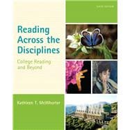 Reading Across the Disciplines College Reading and Beyond Plus NEW MyReadingLab with eText -- Access Card Package