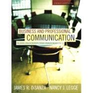 Business and Professional Communication : Plans, Processes, and Performance