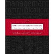 Management Communication : Principles and Practice