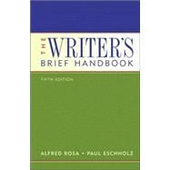 The Writer's Brief Handbook (with MyCompLab)