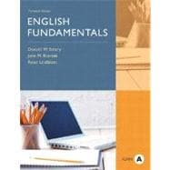 English Fundamentals, Form A