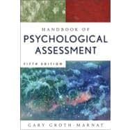 Handbook of Psychological Assessment, 5th Edition