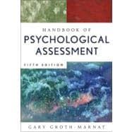 Handbook of Psychological Assessment, 5th Edition
