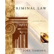 Criminal Law W/ CD - ROM & Infotrac