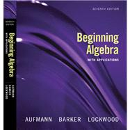 Beginning Algebra : With Applications
