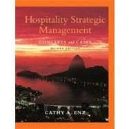 Hospitality Strategic Management: Concepts and Cases, 2nd Edition