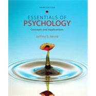 Essentials of Psychology: Concepts and Applications, 3rd Edition