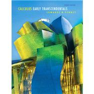 Calculus, Early Transcendentals Value Package (includes Student Solutions Manual)