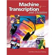 Machine Transcription and Dictation