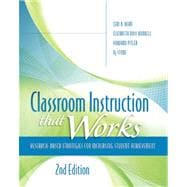 Classroom Instruction That Works : Research-Based Strategies for Increasing Student Achievement, 2nd Edition