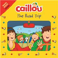 Caillou The Road Trip Travel Bingo Game included 9782897183639R