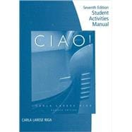 Student Activities Manual for Riga/Lage's Ciao!
