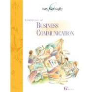 Essentials of Business Communication (with Student CD-ROM and InfoTrac)