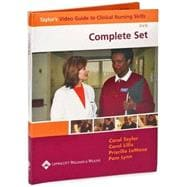 Taylor's Video Guide to Clinical Nursing Skills: Complete Set