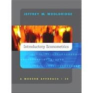Introductory Econometrics: A Modern Approach/With Infotrac