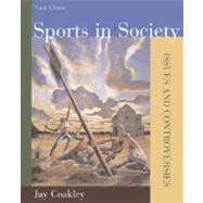 Sports in Society : Issues and Controversies with Online Learning Center Passcode Bind-in Card