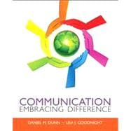 Communication Embracing Difference Plus MySearchLab with eText -- Access Card Package