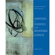 Essentials of Statistics for the Behavioral Science, 7th Edition