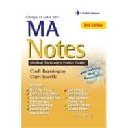 MA Notes : Medical Assistant's Pocket Guide