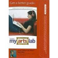 MyArtsLab Student Access Code Card for Janson's History of Art, Volume 1 (Standalone)