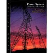 Power System Analysis and Design (with CD-ROM)