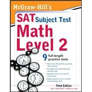 McGraw-Hill's SAT Subject Test Math Level 2, 3rd Edition