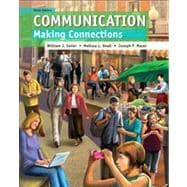 Communication Making Connections Plus NEW MyCommunication Lab with eText -- Access Card Package
