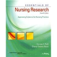 Essentials of Nursing Research Textbook + Study Guide Package