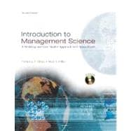 Introduction to Management Science : A Modeling and Case Studies Approach with Spreadsheets