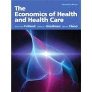 The Economics of Health and Health Care: Pearson International Edition