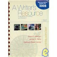 Writer's Resource (comb) - MLA / APA / CSE Update
