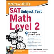 McGraw-Hill's SAT Subject Test Math Level 2 With CD-ROM, 3rd Edition