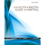 MyCompLab NEW with Pearson eText Student Access Code Card for the Allyn and Bacon Guide to Writing (standalone)