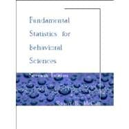 Fundamental Statistics for Behaviorial Science
