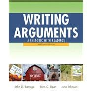 Writing Arguments A Rhetoric with Readings, Brief Edition, with MyWritingLab with eText -- Access Card Package