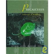 Precalculus: Graphs & Models, Graphing Calculator Manual : College Algebra and Trigonometry