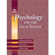 Psychology and the Legal System With Infotrac