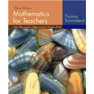 Mathematics for Teachers : An Interactive Approach for Grades K-8